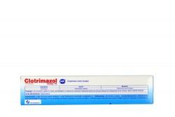 Clotrimazol Crema 1% Caja Con Tubo Con 20 g