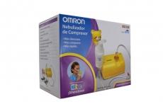 Omron Nebulizador De Compresor Para Niños Caja Con 1 Unidad