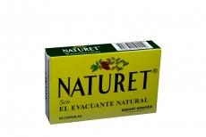 Naturet 400 mg Caja Con 20 Cápsulas - Estreñimiento