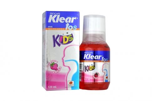 Klear Tos Kids Jarabe Caja Con Frasco Con 120 mL