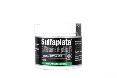 Sulfaplata 1 % Crema Pote Con 100 g
