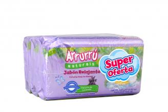 Jabón Relajante Arrurú Naturals Empaque Con 3 Barras Con 100 g C/U