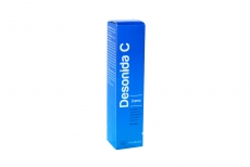 Desonida C Crema 0,15% Caja Con Tubo Con 15 g Rx