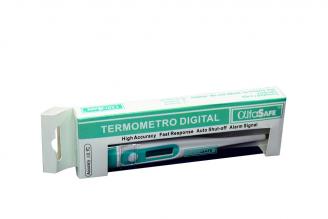 Termómetro Digital Rígido Alfa Caja Con 1 Unidad