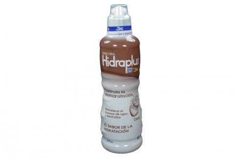 Hidraplus 75 Con Zinc Frasco Con 400 mL - Sabor Coco