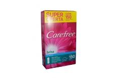 Protector Carefree Brisa Sin Perfume  Super Oferta Caja X 150 Unidades