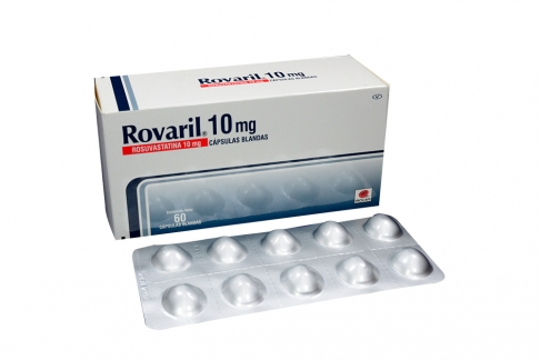 Rovaril 10 mg Caja Con 60 Cápsulas Rx
