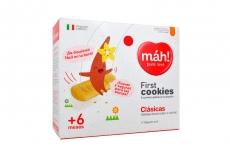 First Cookies Máh + 6 meses Galletas Caja Con 100 g