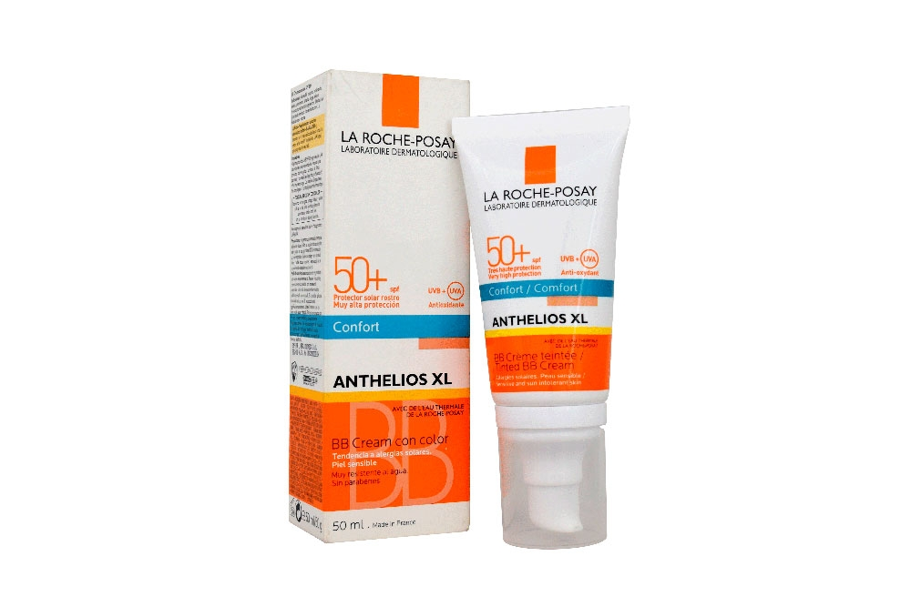 Anthelios XL BB crema con color SPF 50+ Frasco Con 50 mL