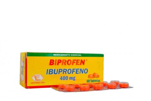 Biprofen 400 Mg Caja X 60 Tabletas Tabletas  (IBUPROFENO) / Labquifar
