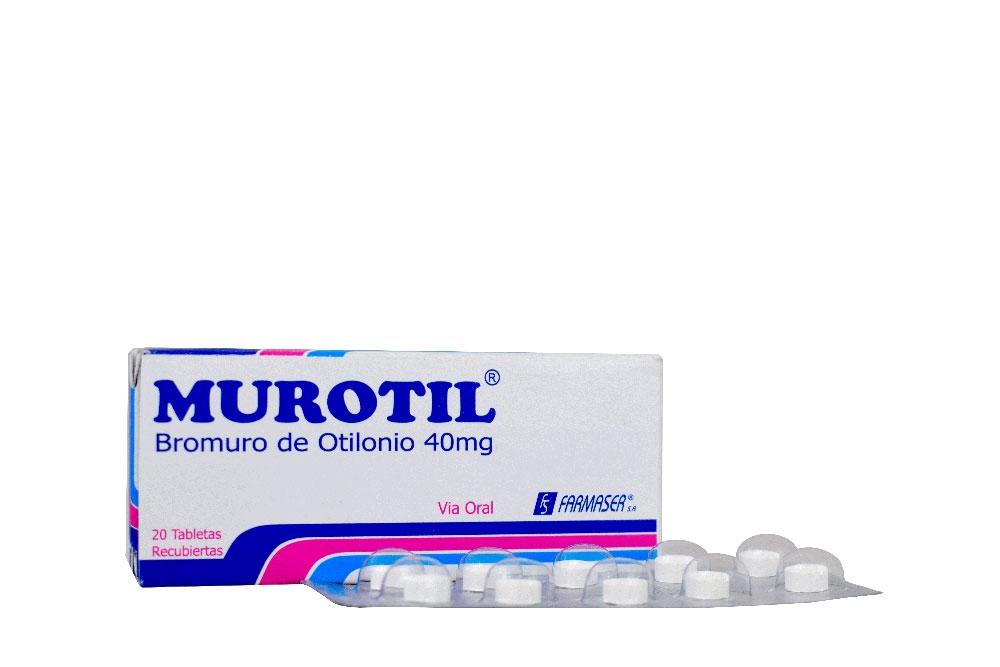 Murotil 40 mg Caja x 20 Tabletas