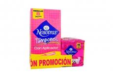 Tampon Nosotras Aplic Reg X 8u(15 Multie