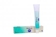 Aciclovir 5 % Ungüento Caja Con Tubo X 10 g Rx
