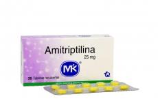 Amitriptilina 25 mg Caja Con 30 Tabletas Rx