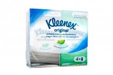 Kleenex Original Empaque Con 4 Paquetes Con 10 Pañuelos C/U