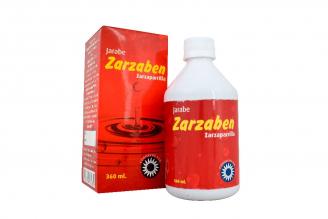 Zarzaben Jarabe Caja Con Frasco Con 360 mL