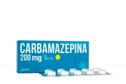 Carbamazepina 200 mg Caja Con 30 Tabletas Rx
