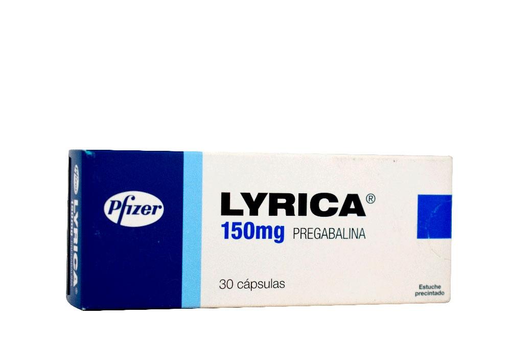 Lyrica 150 mg Caja Con 30 Cápsulas Rx4 Rx1