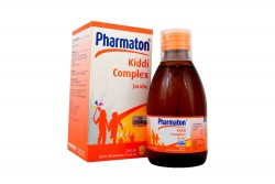 Pharmaton Kiddi Complex Jarabe Frasco Con 200 mL