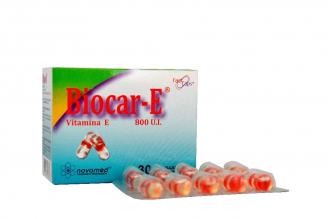 Biocar - E 800 U.I Caja Con 30 Cápsulas
