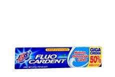 Crema Dental Fluocardent Sabor A Menta Tubo Con 150 mL