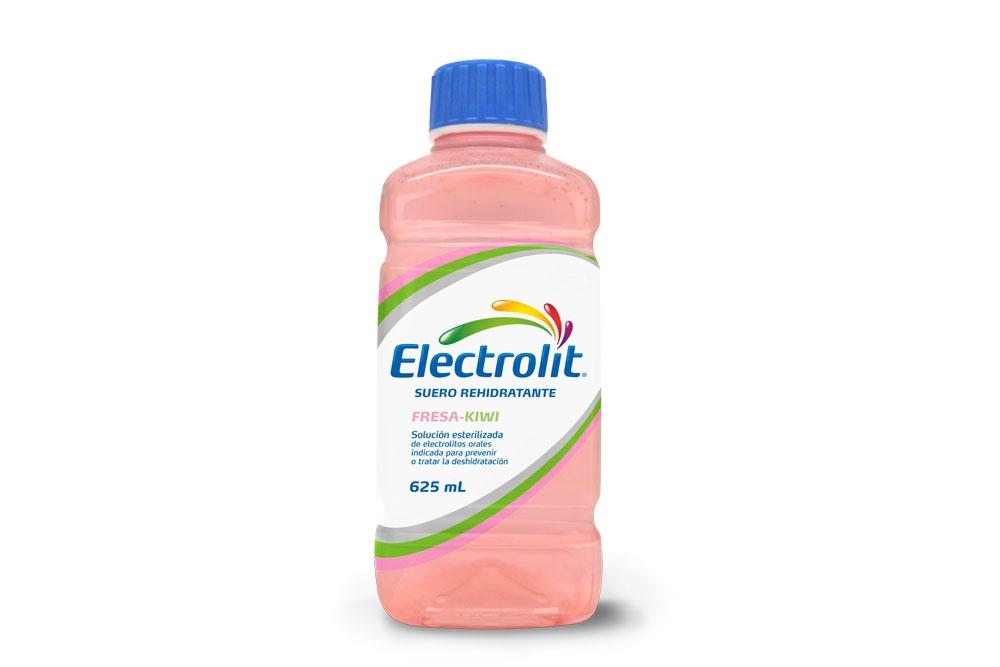 Electrolit Suero Rehidratante Frasco Con 625 mL- Sabor Fresa – Kiwi