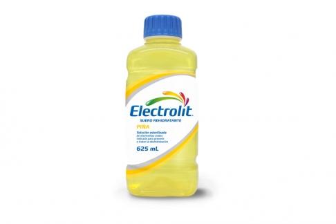 Electrolit Suero Rehidratante Frasco Con 625 mL- Sabor Piña