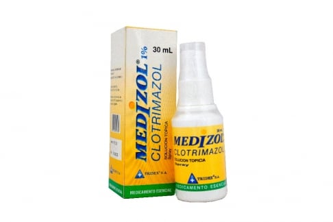 Medizol 1% Solucion Topica Frasco Con 30 mL