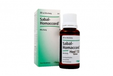 Sabal Homaccord Gotas X 30 mL