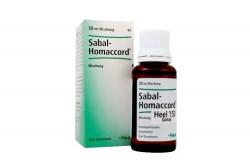 Sabal Homaccord Gotas X 30 mL