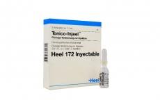 Tonico-Injeel Heel 172 Inyectable Caja Con 5 Ampollas Con 1.1 mL C/U Rx
