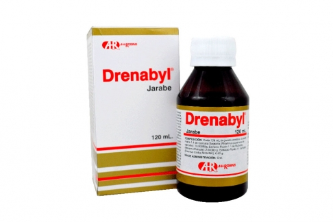 Drenabyl Jarabe Caja Con Frasco Con 120 mL Rx