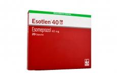 Esotlen 40 mg Caja Con 20 Cápsulas Rx
