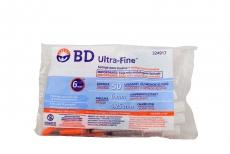 Jeringa Para Insulina BD Ultra Fine Calibre 31 g Bolsa Con 10 Unidades