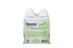 Rexona Motion Sense Bamboo Empaque Con 2 Frascos Con 50 g C/U