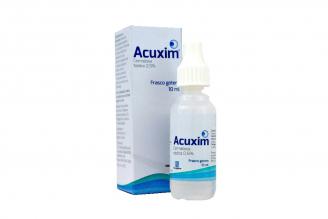 Acuxim 0.5% Solución Oftálmica Caja Con Frasco Con 10 mL