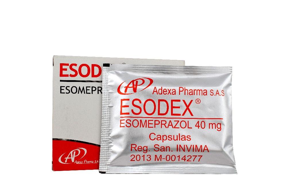 Esodex 40 mg Caja Con 14 Cápsulas Rx