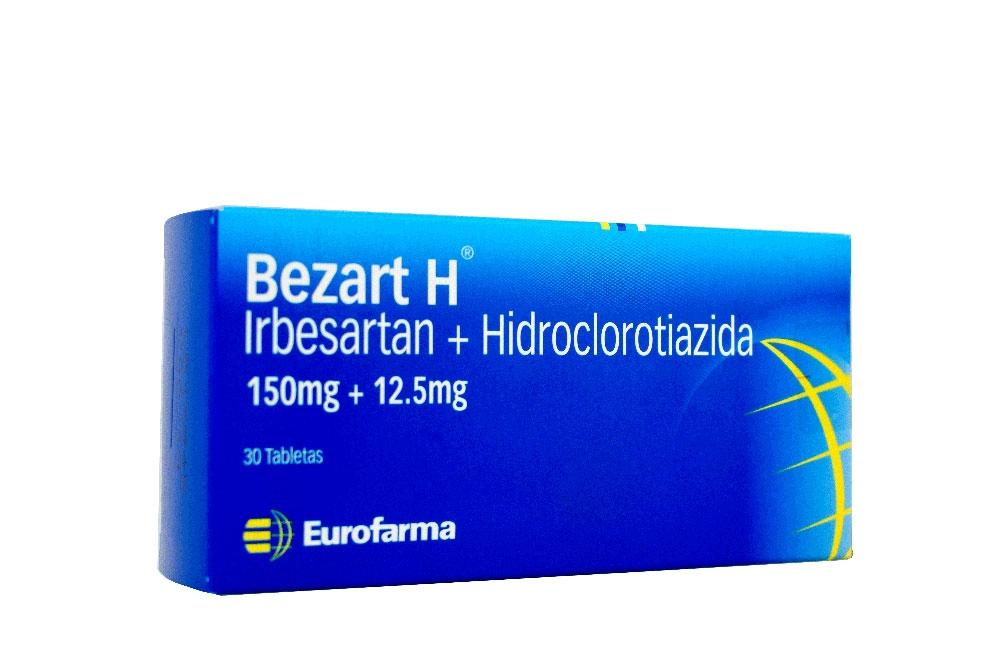 Bezart H 150 / 12.5 mg Caja Con 30 Tabletas Rx4