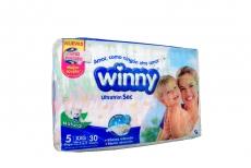 Winny Ultratim Sec Paca Con 30 Pañales – Etapa 5 XXG