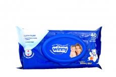 Winny Toallas Húmedas Avena Y Miel Paquete Con 40 Unidades