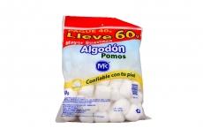 Algodón MK Pomos Bolsa Con 60 g