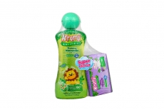 Shampoo Arrurrú Manzanilla Frasco Con 220 mL + Jabón Lavanda Barra Con 10 g