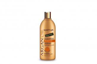 Shampoo Kativa Argan Oil Organic Frasco Con 500 mL
