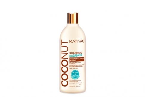 Shampoo Kativa Coconut Organic Frasco Con 500 mL