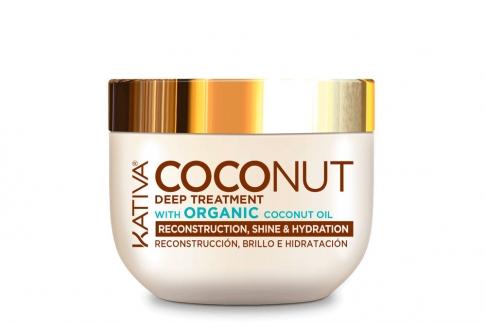 Tratamiento Profundo Coconut Kativa Frasco Con 250 mL