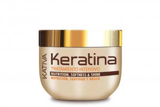Tratamiento Capilar Intense Keratina Kativa Frasco Con 250 mL