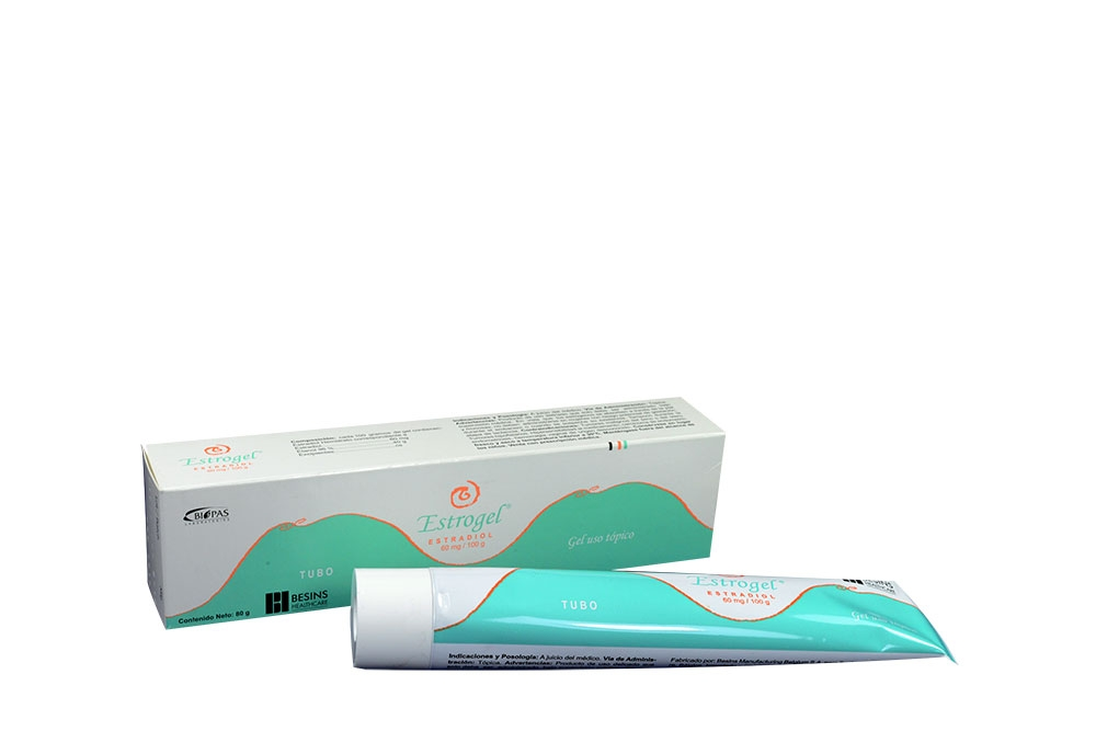 Estrogel 60 mg / 100 g Caja Con Tubo 80 g Rx  Rx1