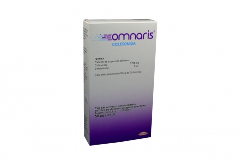 Omnaris 0,714 mg / mL Caja Con Spray x 200 Dosis Rx