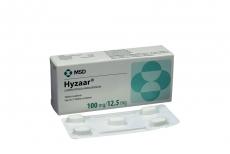 Hyzaar 100 / 12.5 mg Caja Con 15 Tabletas Recubiertas Rx
