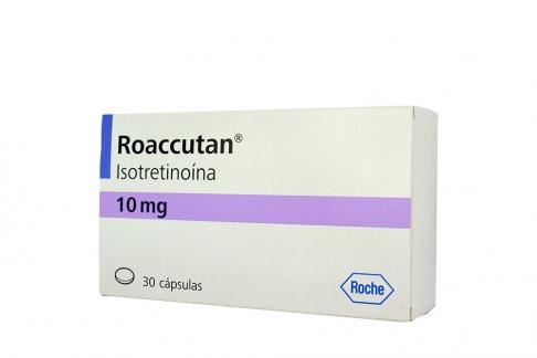 Roaccutan 10 mg Caja Con 30 Cápsulas Rx5